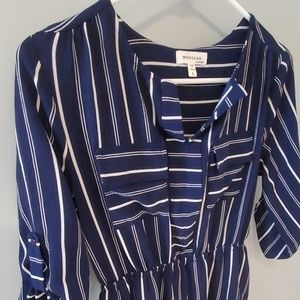 Shirt style dress by Monteau